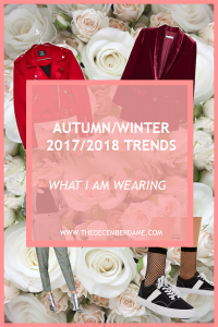 A/W 2017/2018 fashion trends