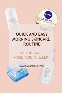 бърза сутрешна грижа за кожата