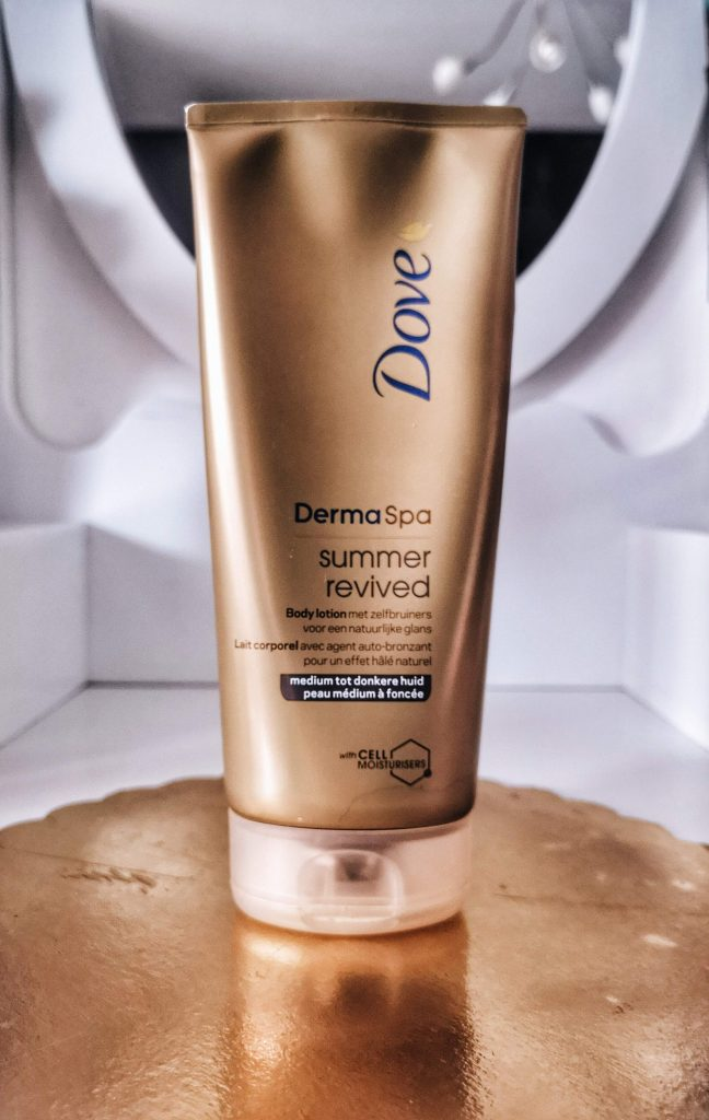 Dove summer revived body lotion review