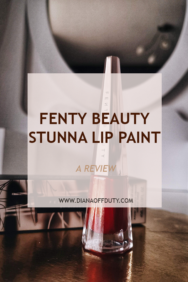 fenty beauty stunna lip paint uncensored review
