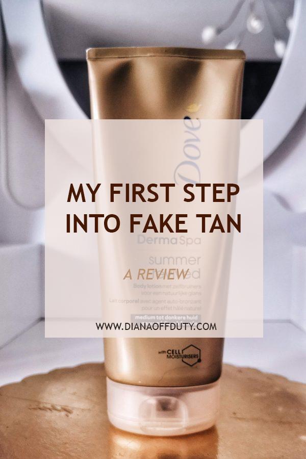 fake tan review