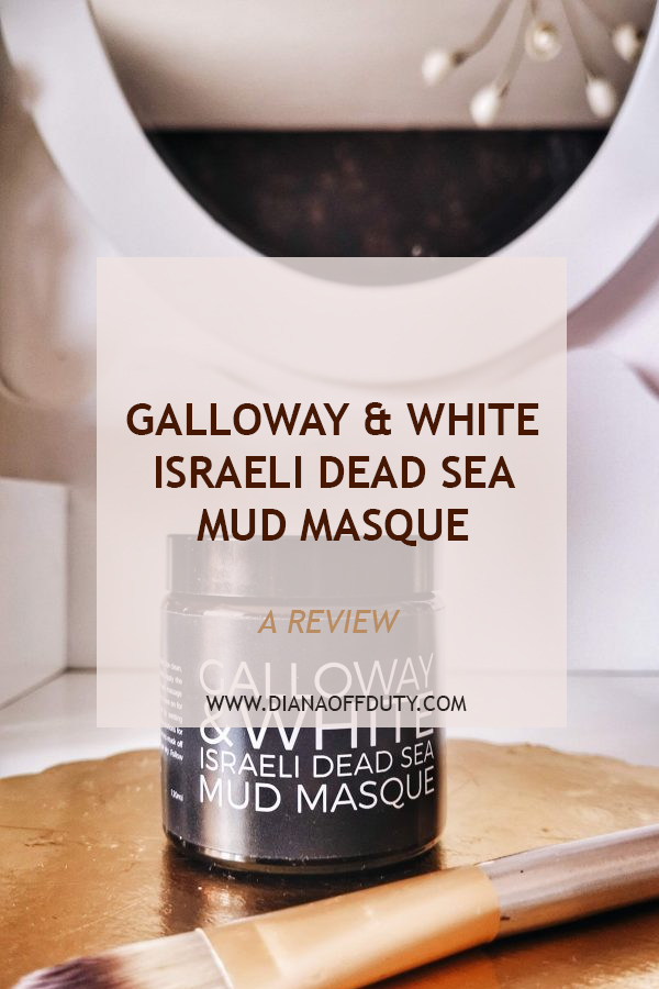 GALLOWAY AND WHITE dead sea mud mask review