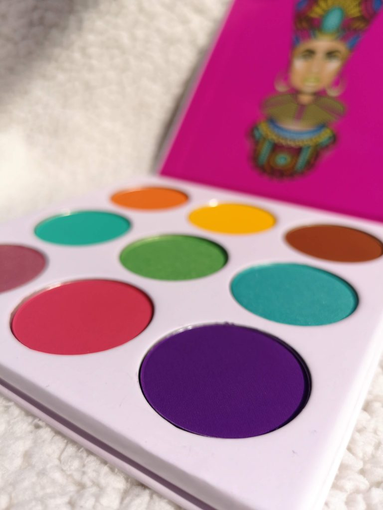 The Zulu eyeshadow palette by Juvia's place