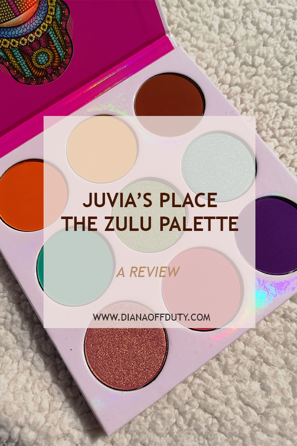 juvia's place the zulu palette review