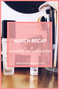 MARCH FAVOURITES AND UNFAVOURITES