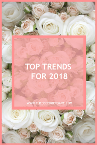 TOP FASHION TRENDS 2018
