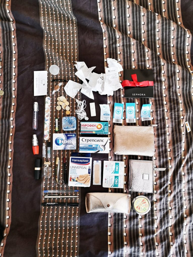 what's in my bag 2018