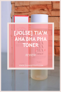 tiam aha bha pha toner k-beauty review