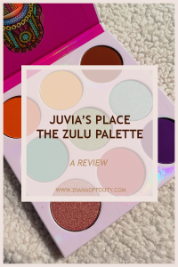 JUVIAS PLACE THE ZULU PALETTE REVIEW