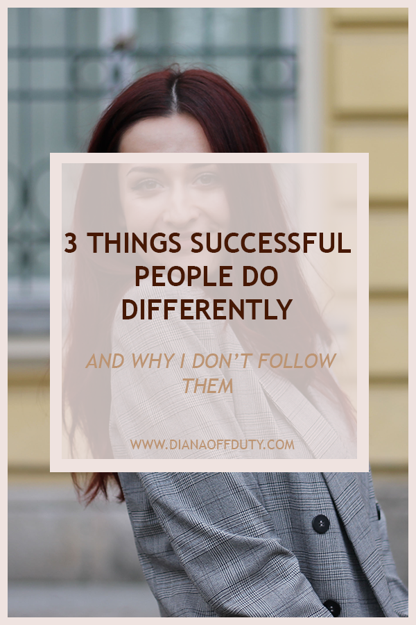 WHAT SUCCESSFUL DO DIFFERENTLY