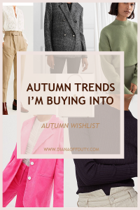 What I'm Buying to Dress Better This Autumn