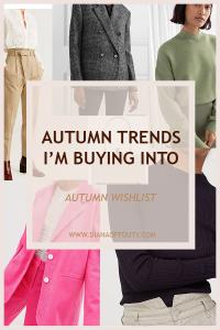autumn trends 2019