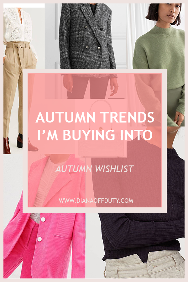 autumn fashion trends 2019