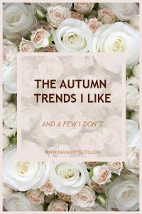 autumn trends 2018