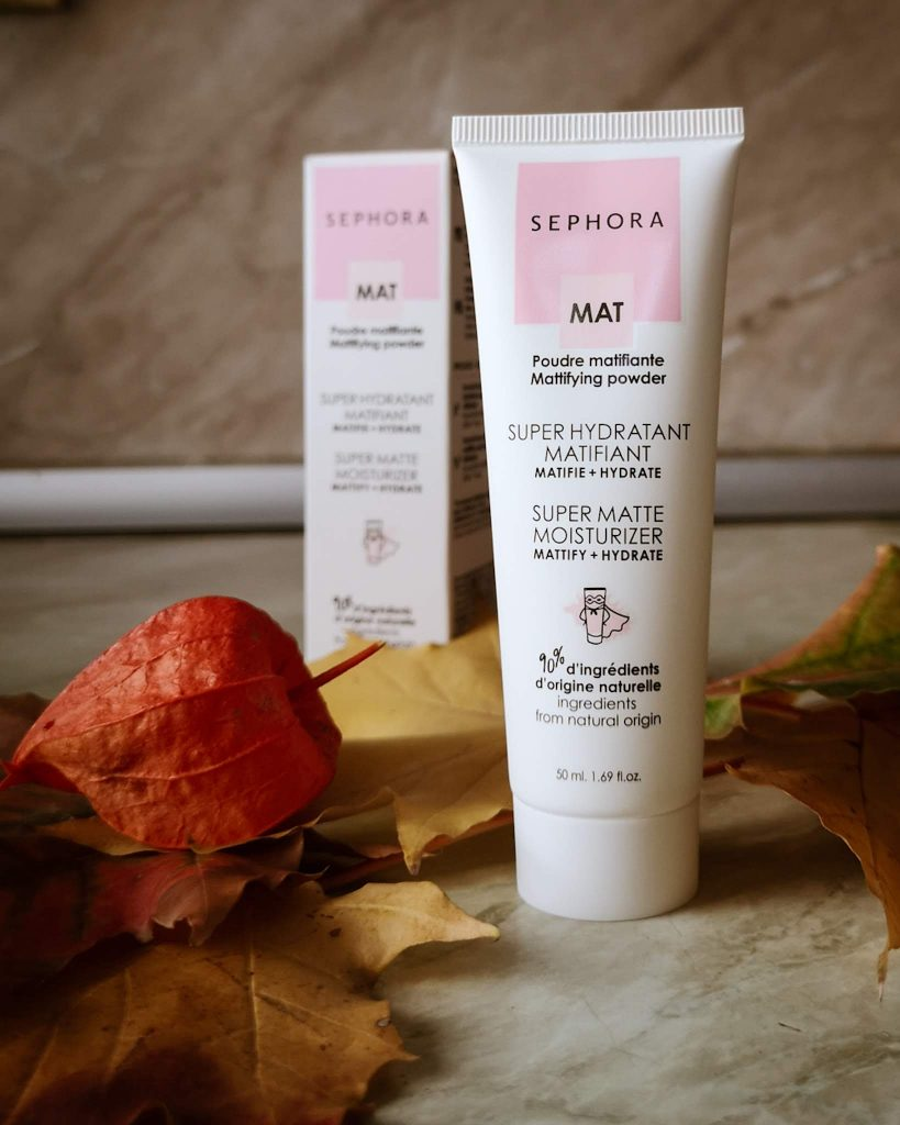 sephora collection super matte moisturizer review