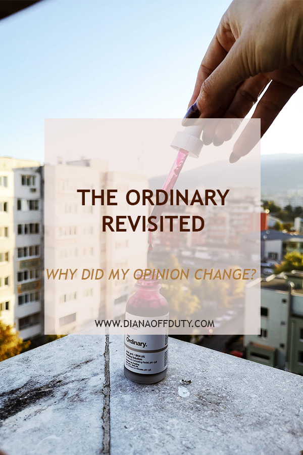 THE ORDINARY REview after one year