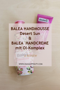 Balea Handmousse Desert Sun and Handcreme Ol-Komplex Silk & Soft