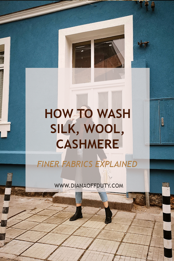 how to wash wool silk cashmere at home