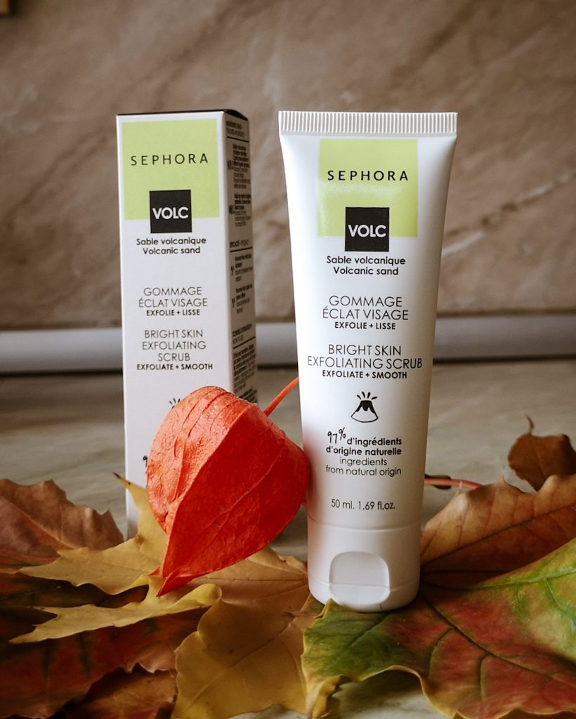 sephora collection good skincare bright skin exfoliating scrub review