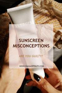 sunscreen misconceptions