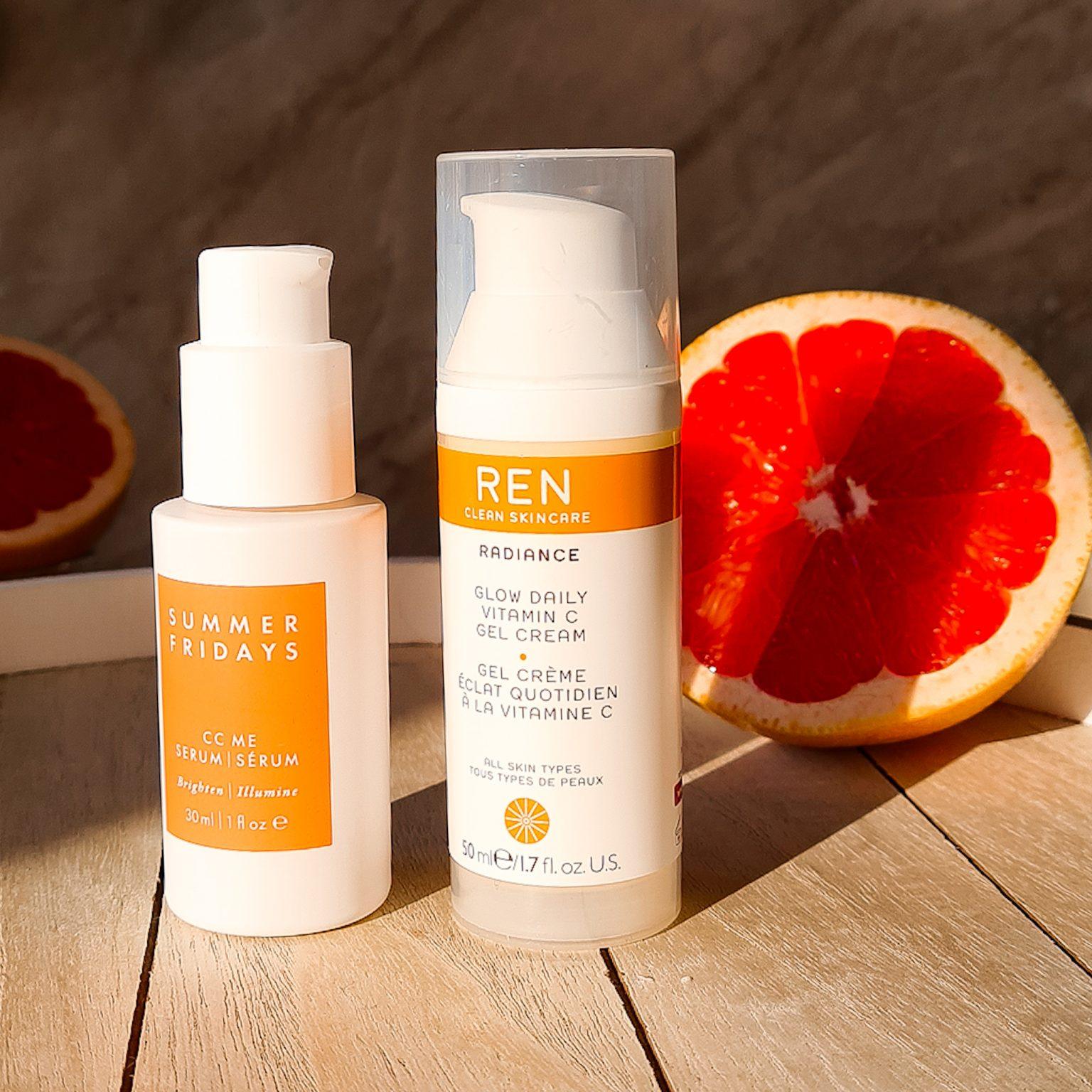 витамин ц в грижата за кожата