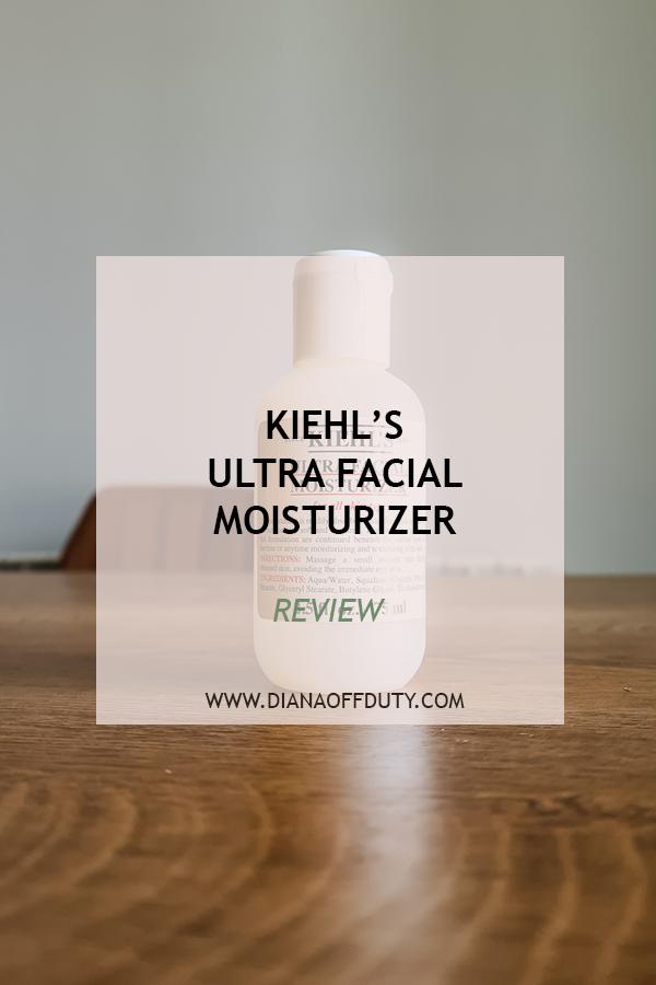 kiehls ultra facial moisturizer мнение dianaoffduty